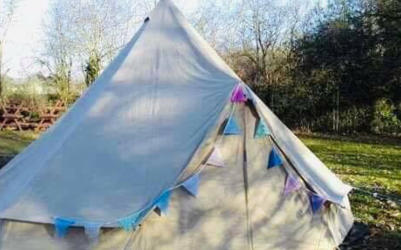 Bell Tent Glamping Gallois au Petit Bois